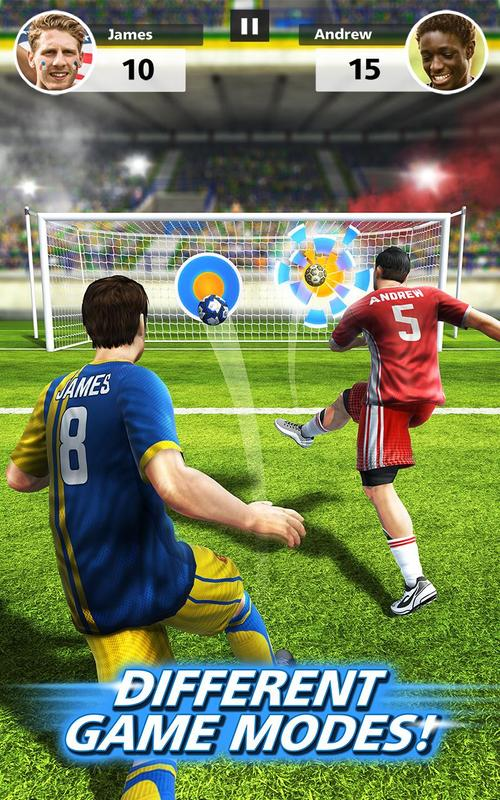 480aed313fd You ve never played a football game like this before. Take on your friends  in multiplayer free-kick face-offs